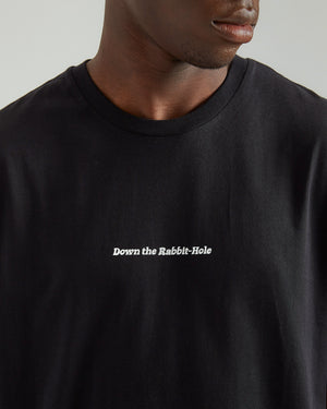 Rabbit T-Shirt in Black