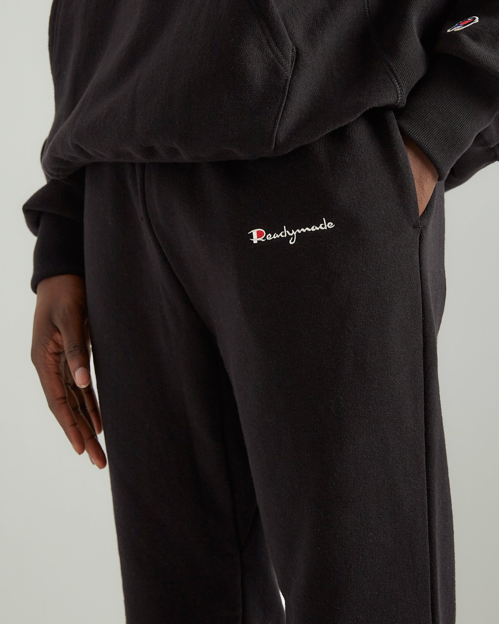 Cotton Sweatpants in Black