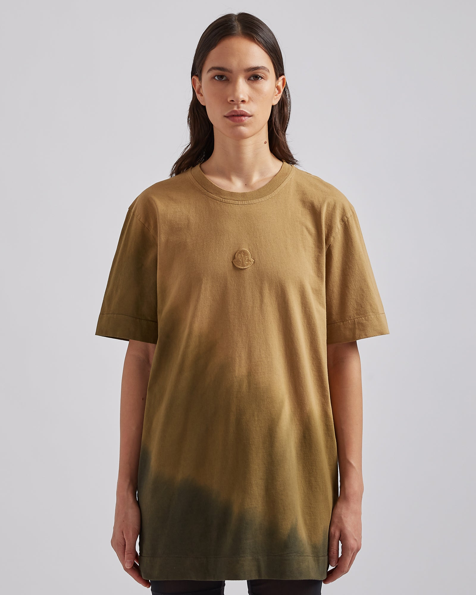 Recycled Cotton S/S T-Shirt in Khaki