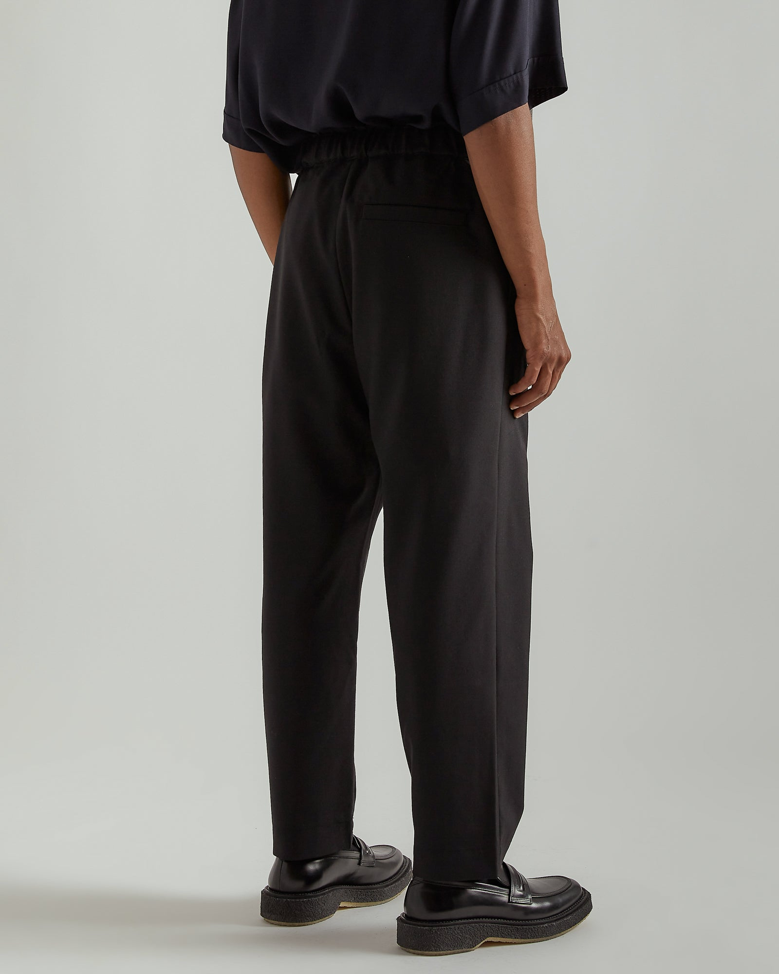 Regs Wool Pants in Black