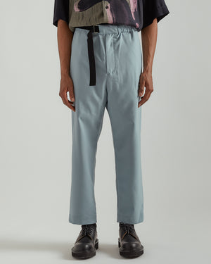 Regs Wool Pants in Slate Blue