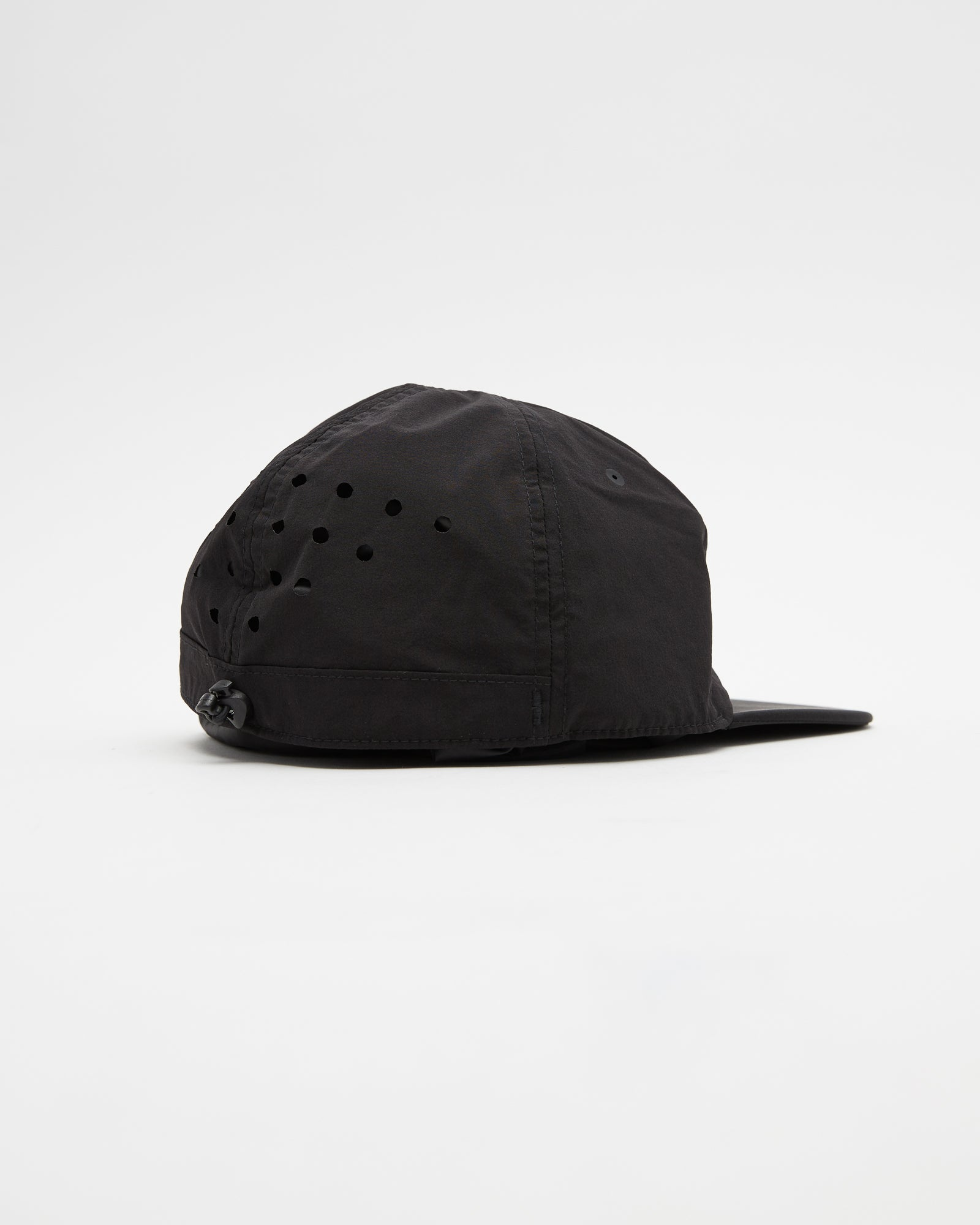 Rhombus Badge Cap in Black