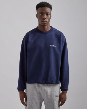 Rizzoli Crewneck in Navy