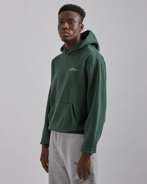 Rizzoli Hoodie in Forest Green