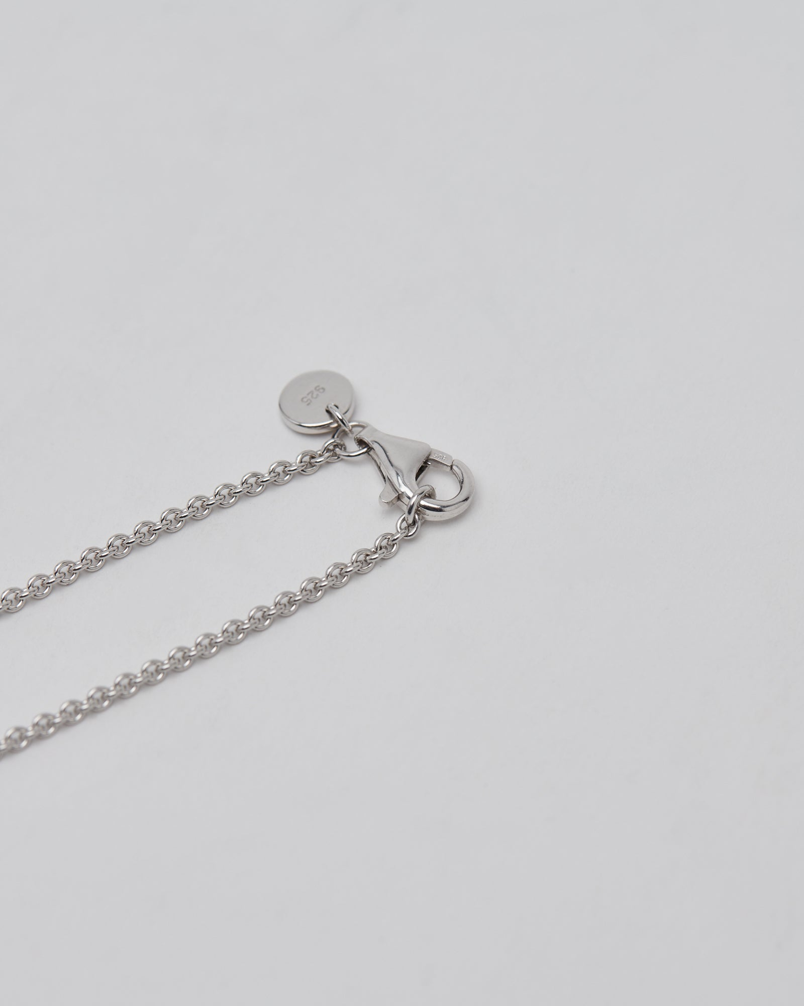 Rolo Chain in Silver 18 in