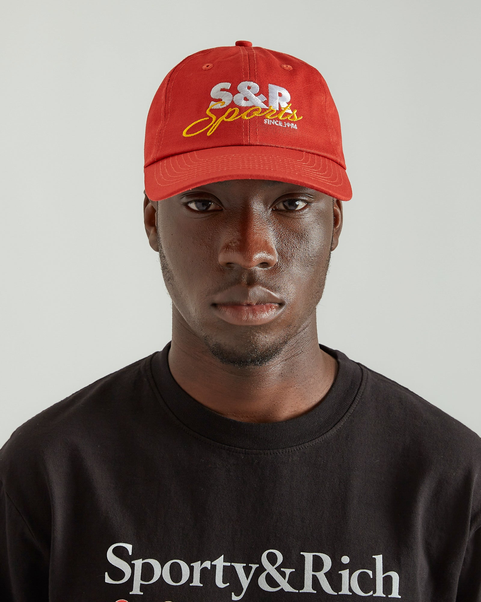 S&R Sports Hat in Cherry
