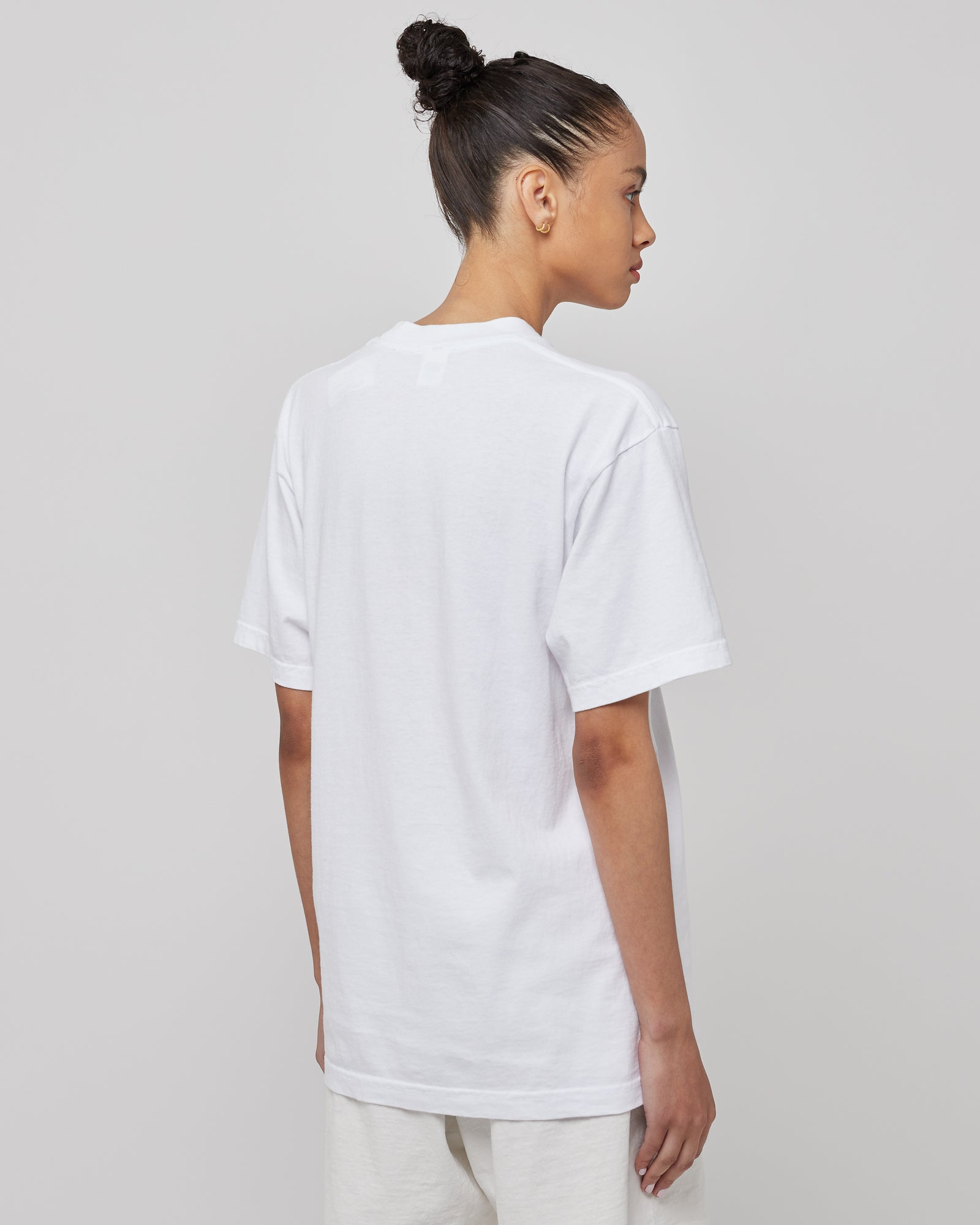 SRCNY T-Shirt in White/Navy
