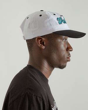 Wellness Club Hat in White/Black