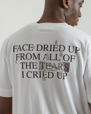 S/S Dried Tears T-Shirt in White