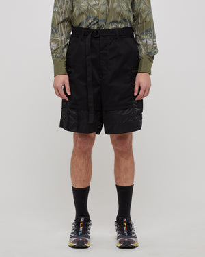Combo Shorts in Black