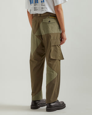 Hank Willis Thomas Edition Solid Mix Pants in Khaki