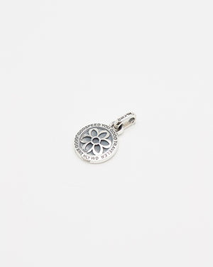 Saint Christopher Pendant, Rosette, Sterling