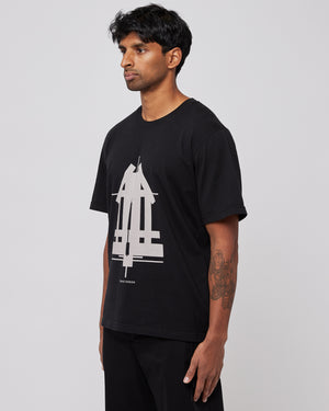 Sculpture T-Shirt in Black