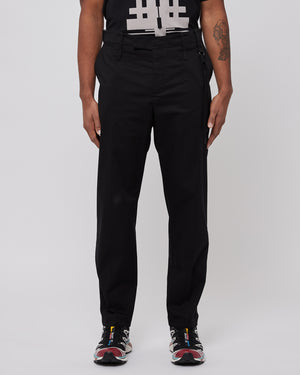 Slim Uniform Trousers in Black