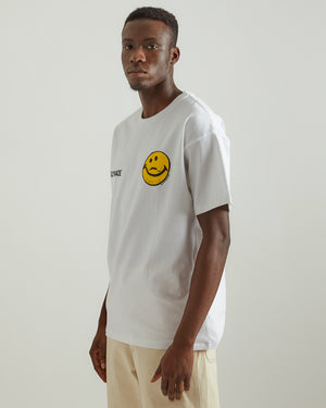 Smiley Face T-Shirt in White