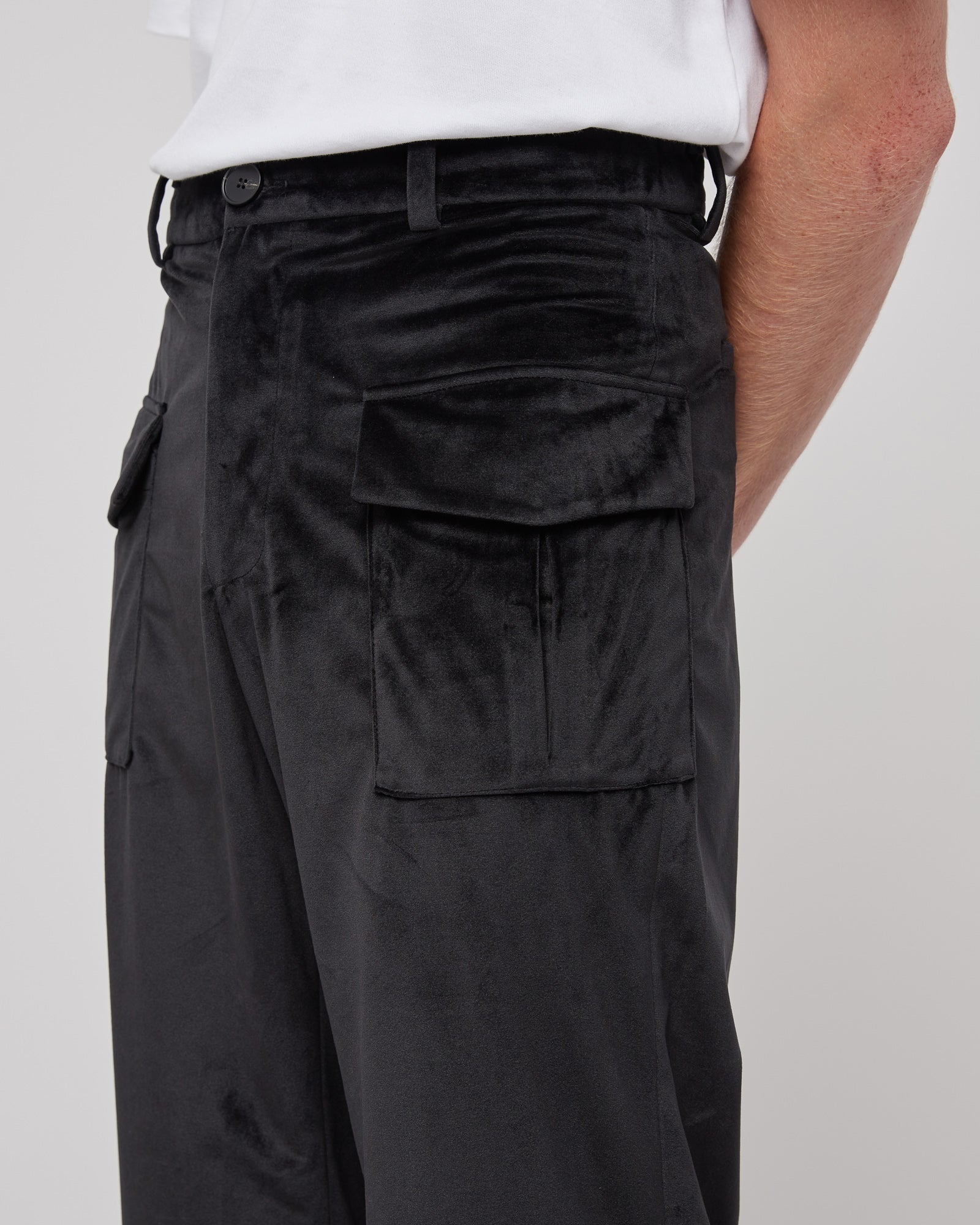 Sound Room Cargo Pant in Black