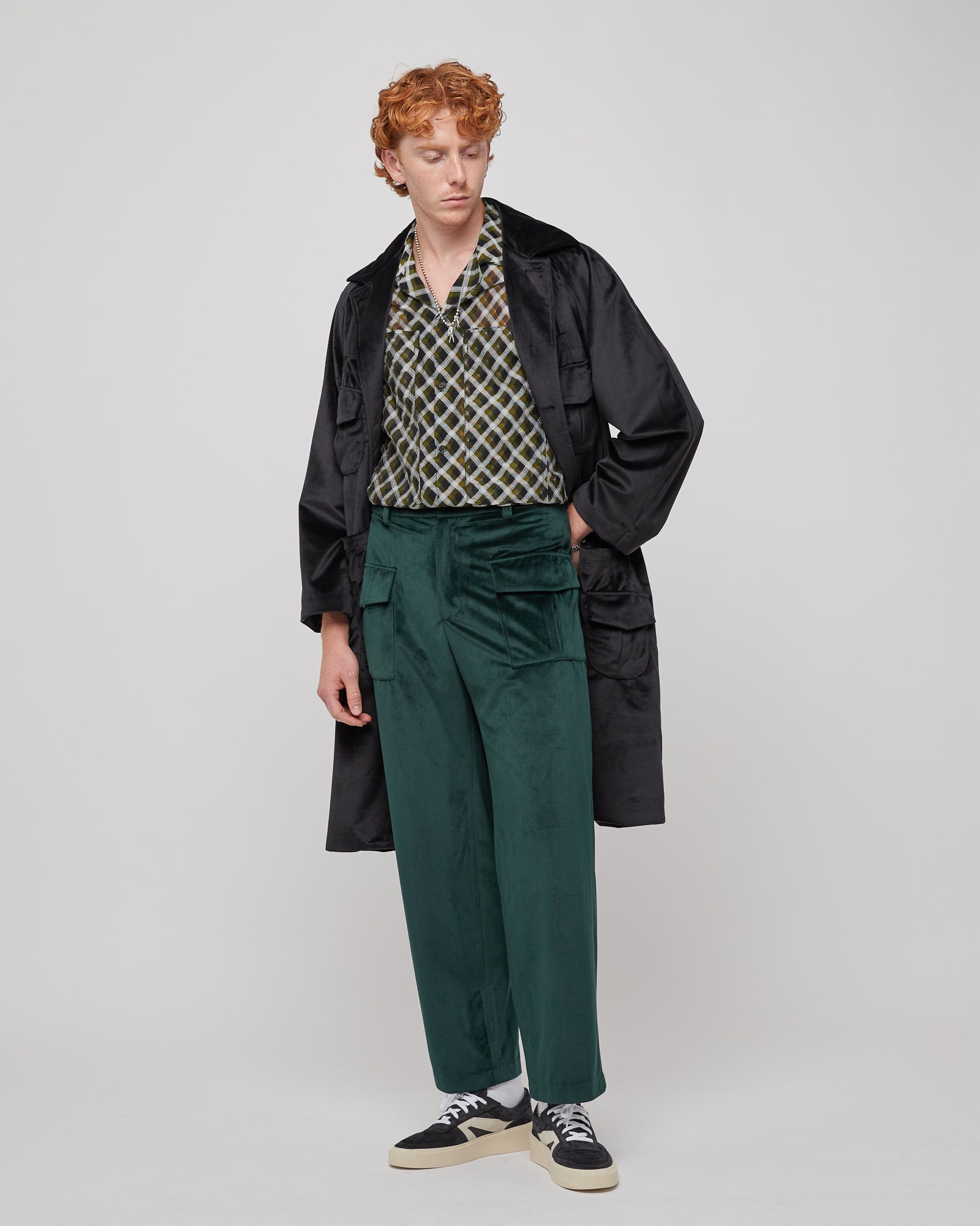 Sound Room Cargo Pant in Green
