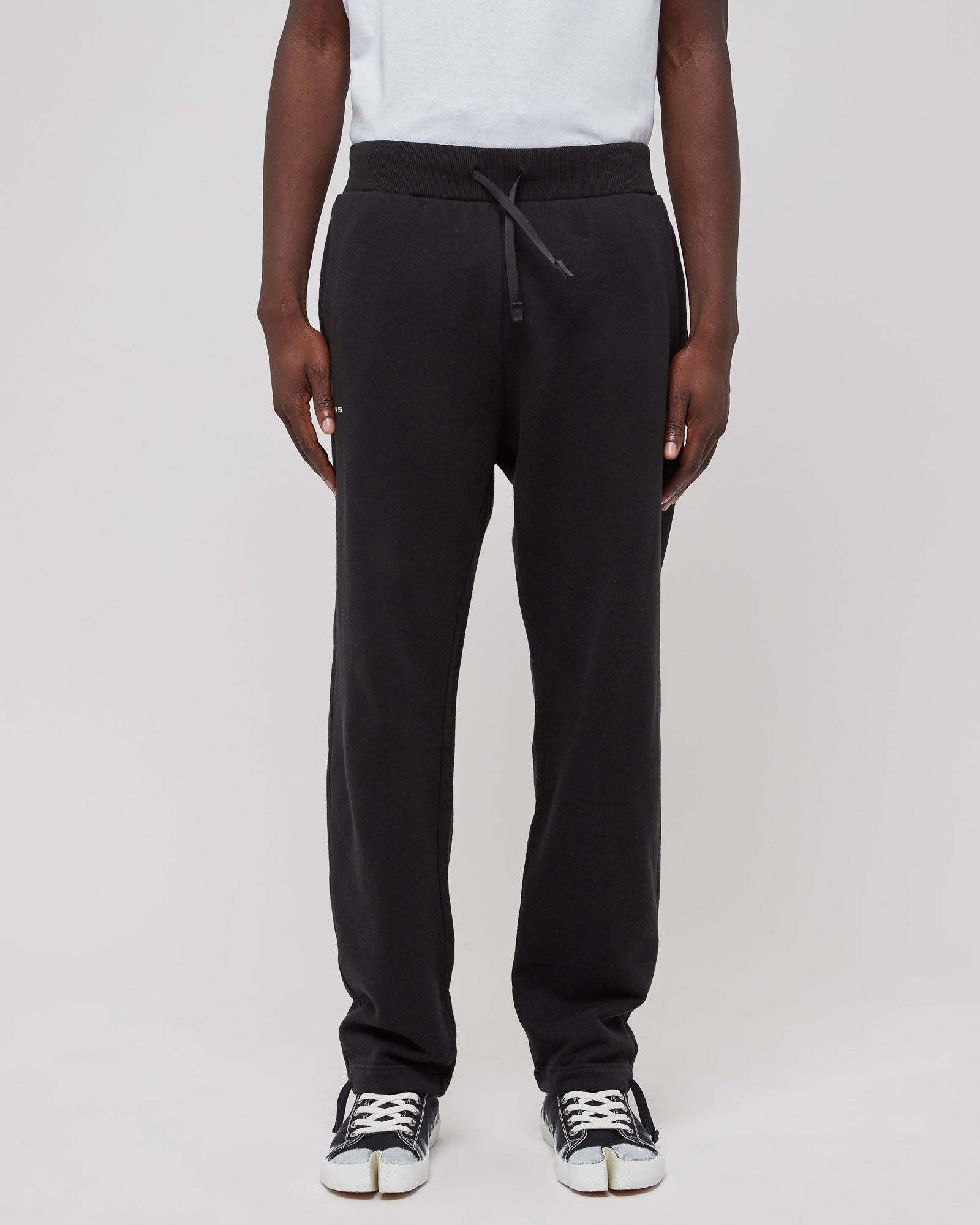 Sphere Logo Jogger in Black