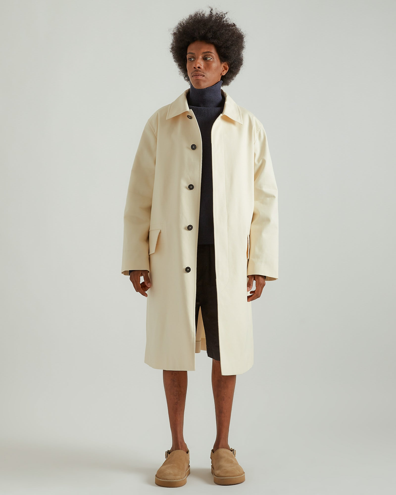 Sport Coat in Open Beige