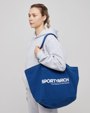 Science Tote in Sport Blue