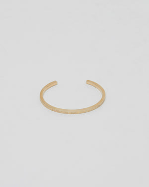 Structure Cuff in Gold M