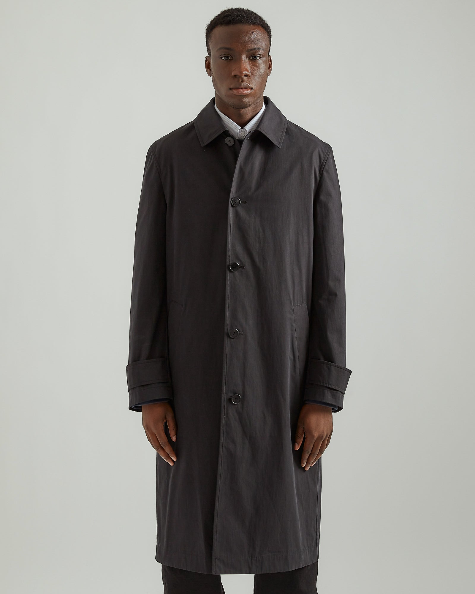 Studio Overcoat in Black