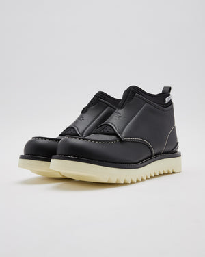 Suicoke For Fumito Ganryu Mid Top Boots in Black