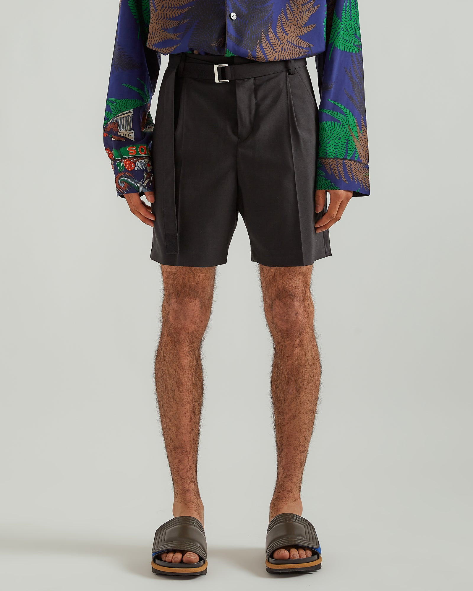 Suiting Shorts in Black
