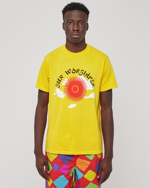 Sun Worshipper T-Shirt in Gold