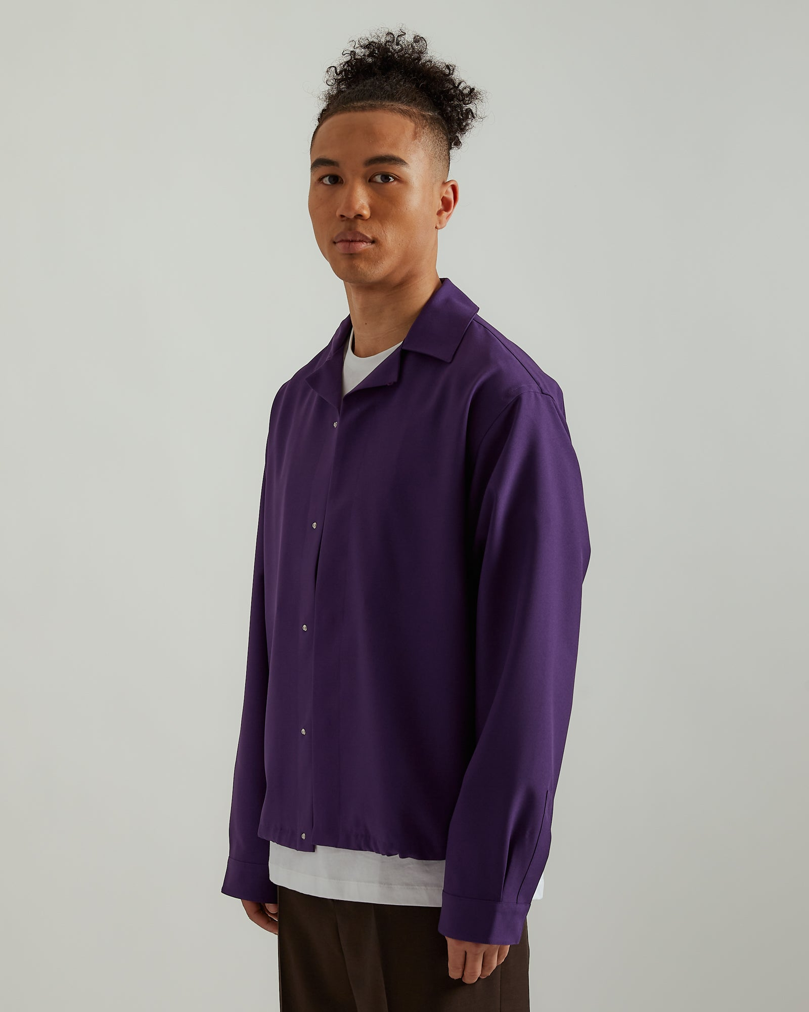 System Shirt in Purple