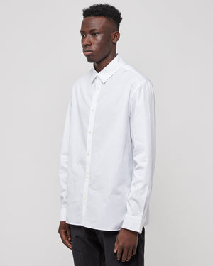 Tailored Longsleeve Essential Shirt in White