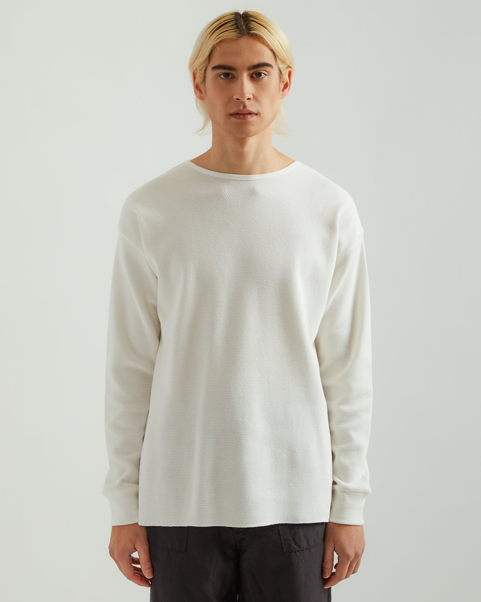 Thermal Long Sleeve in White