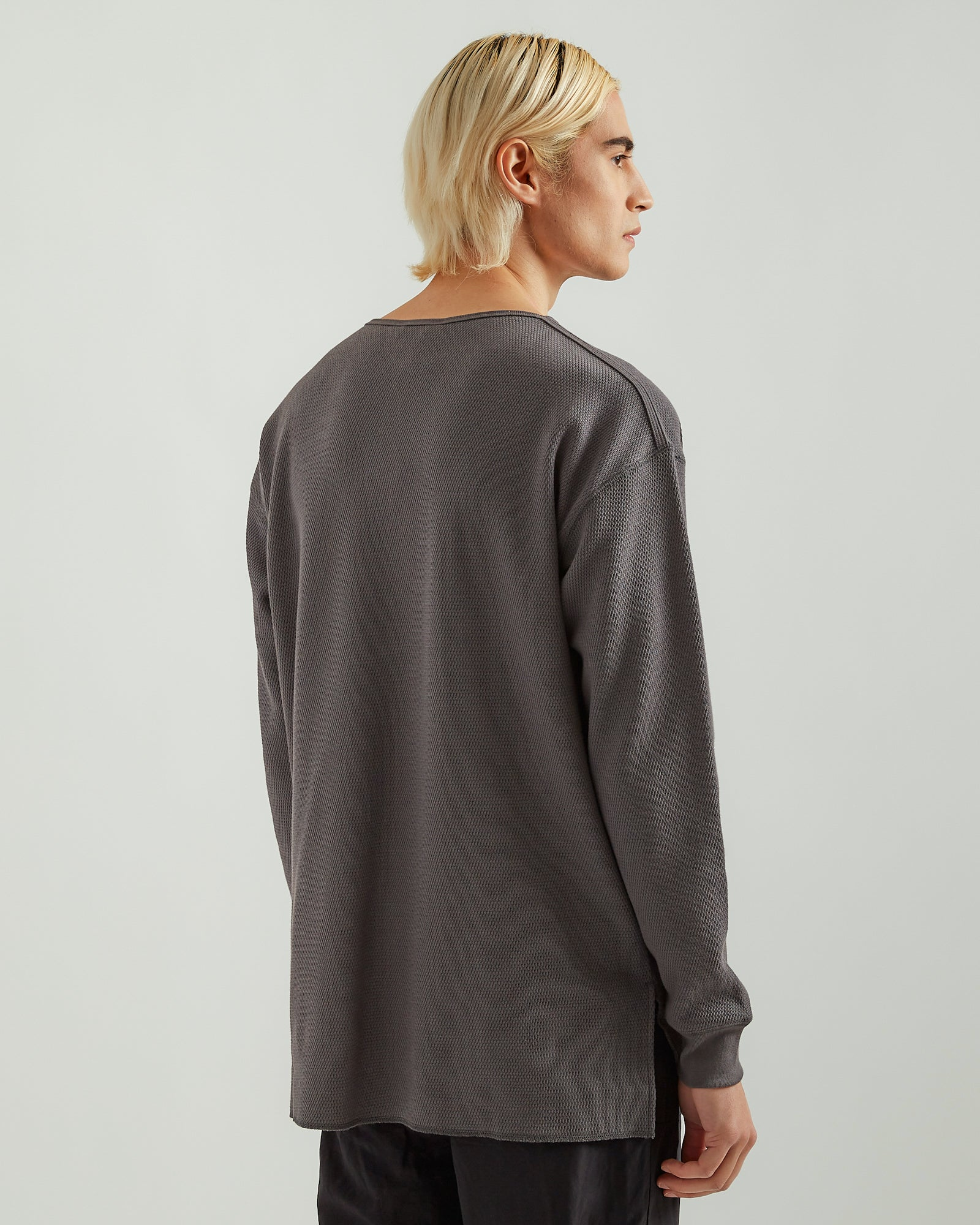 Thermal Longsleeve in Charcoal