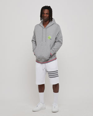 Tennis Icon Hoodie in Gray
