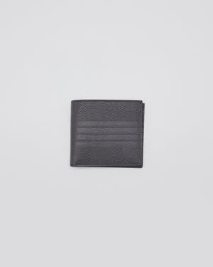 Billfold 4 Bar in Pebble Grain Charcoal