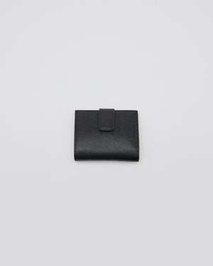 Billfold Coin Pebblegrain in Black
