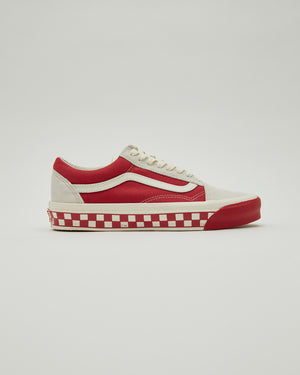 UA OG Old Skool LX in Marshmallow/Cardinal