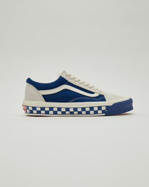 UA OG Old Skool LX in Marshmallow/True Blue