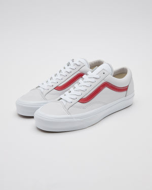 UA OG Style 36 LX in True White/Red