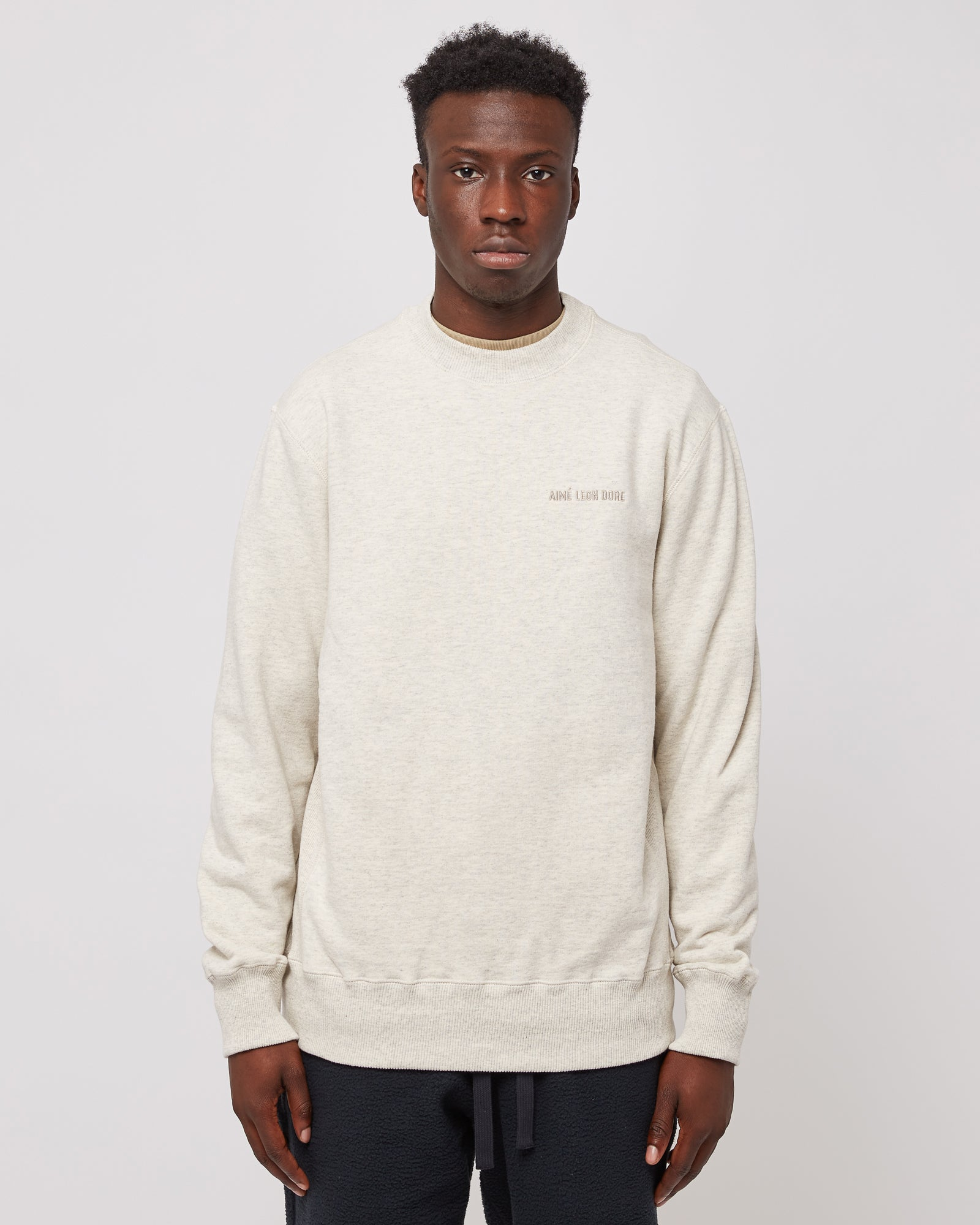 Uniform Crewneck in Oatmeal