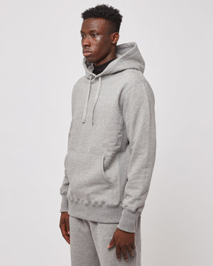 Uniform Hoodie in Heather Gray