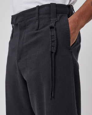Uniform Trouser in Dark Gray