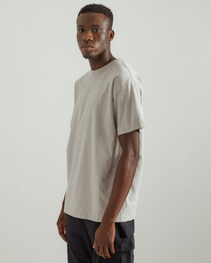 University T-Shirt in Moon Gray