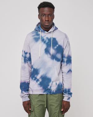 Beach Hoodie in Reflection Dye