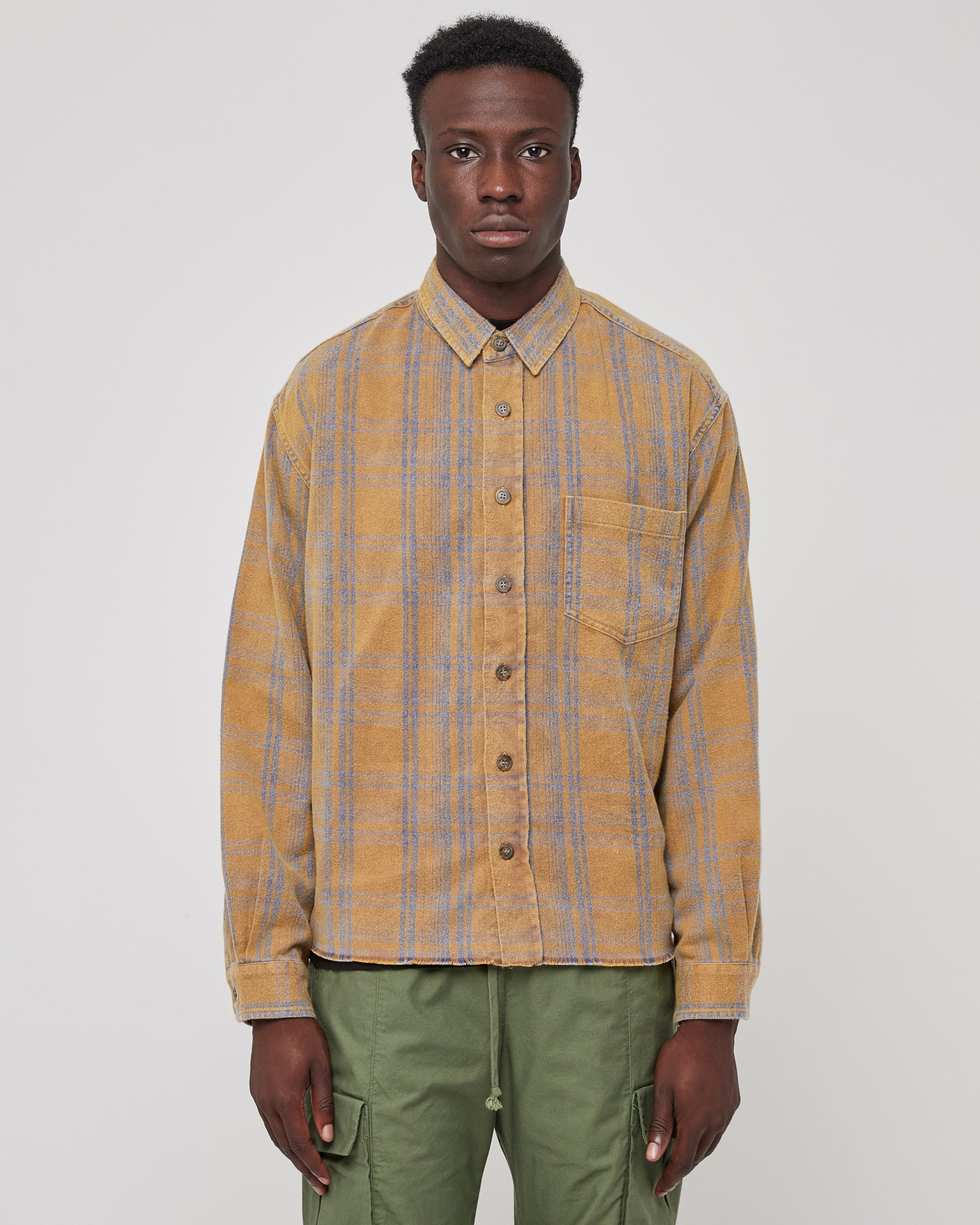 Hemi Oversized Shirt in Honey