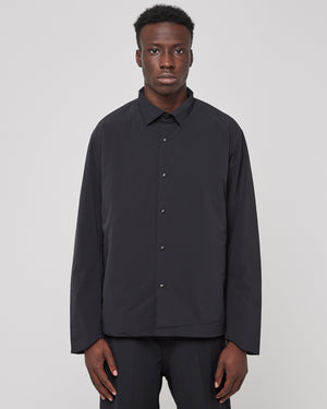 Insulated L/S Shirt in Black