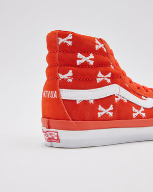 Vans X Wtaps OG SK8 Hi in Bones/Orange