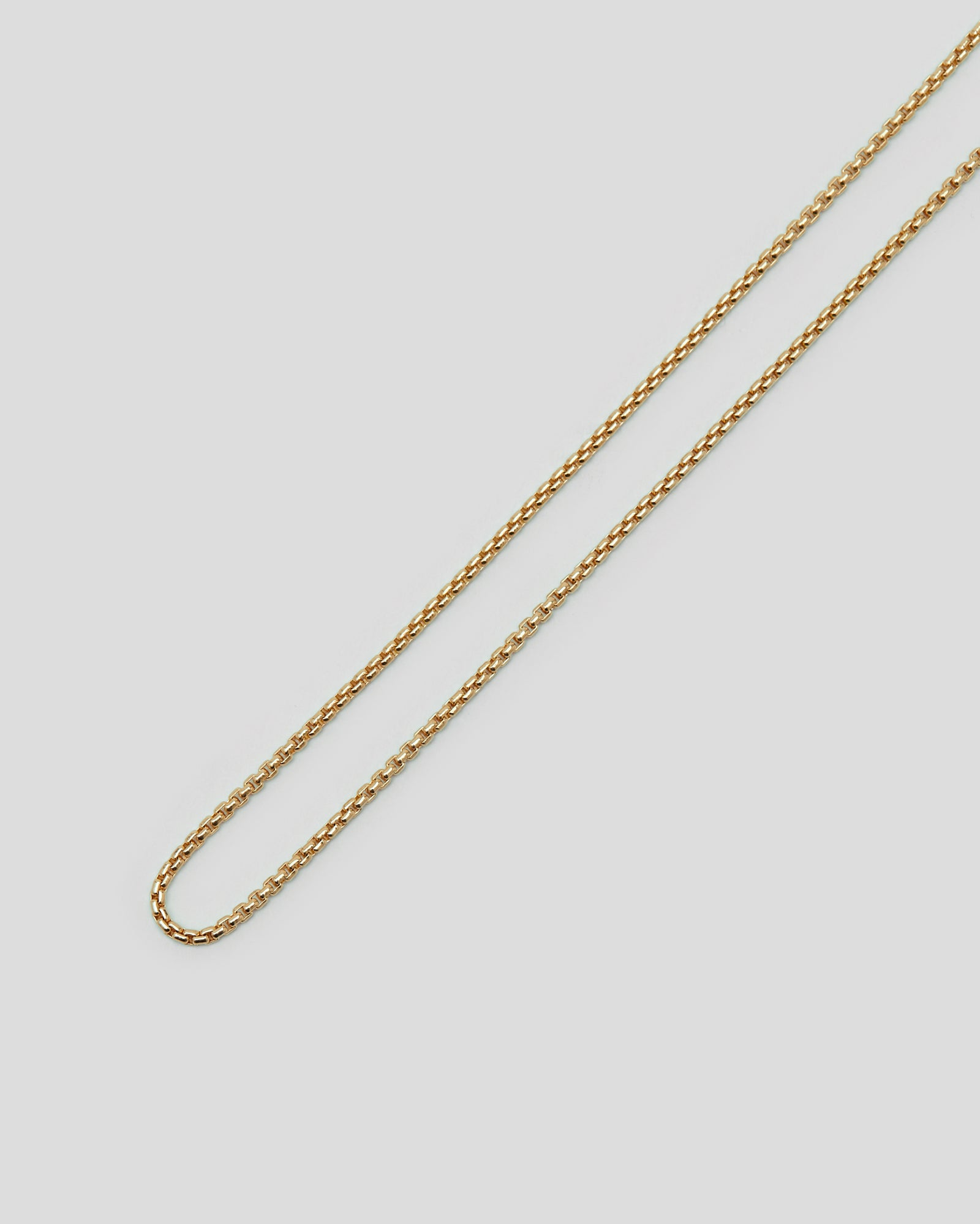 Venetian Chain Single S in Gold