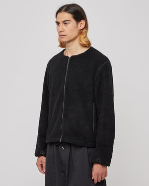 Ventilation Fleece in Black
