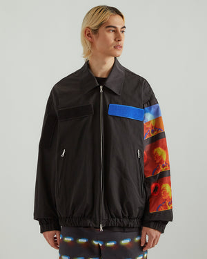 Vond Patch Jacket in Black
